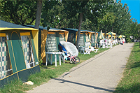 Mietcamping - Bungalowzelte