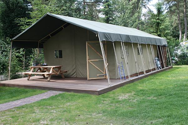 Camping De Hertshoorn -Glamping-Unterkunft-
