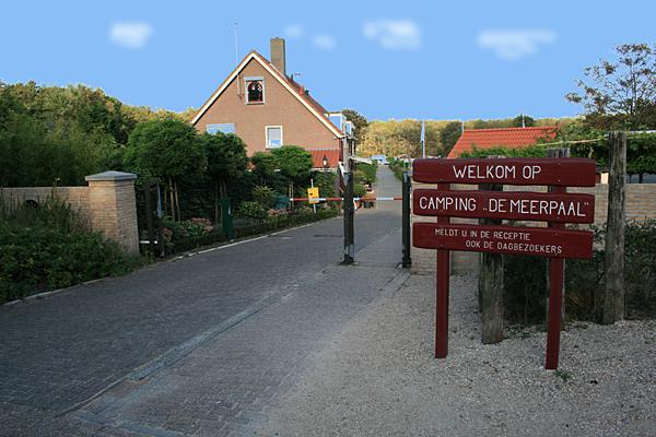 Camping De Meerpaal -Einfahrt-