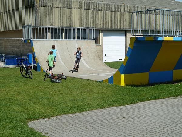 Camping Tempelhof -Skaterbahn-